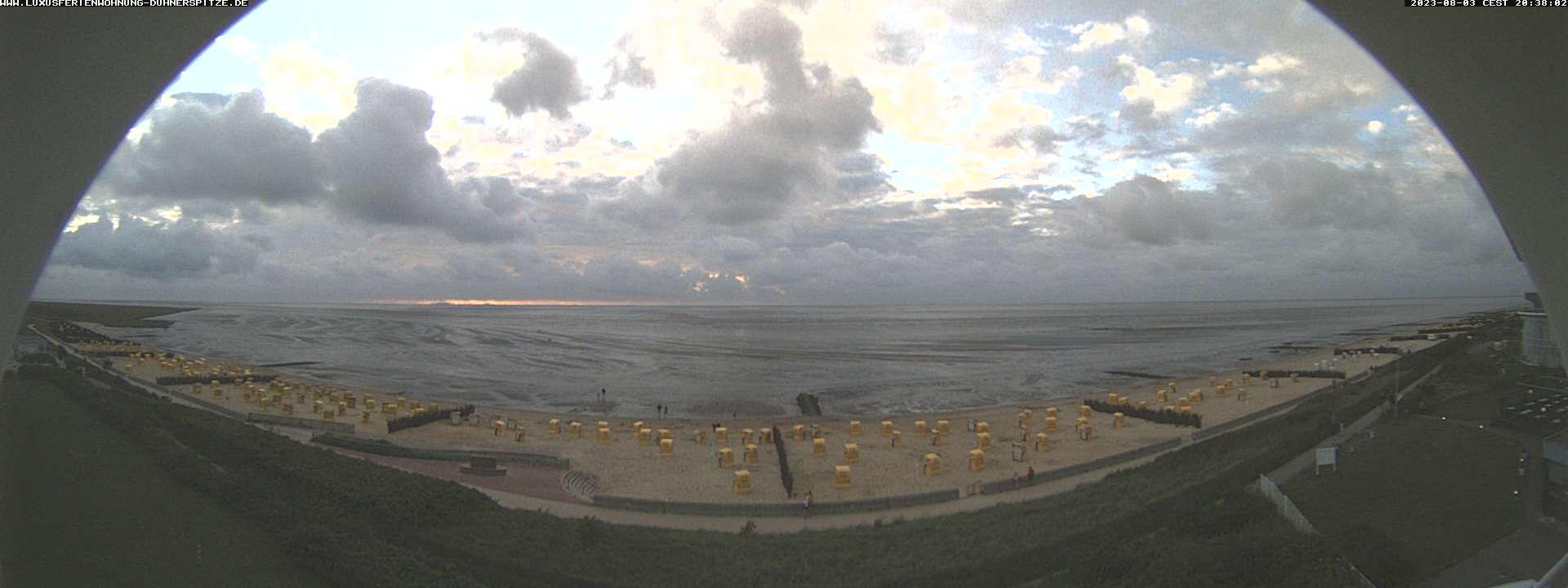 webcams borkum strand